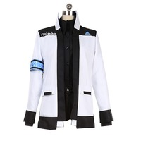 2019 Game Detroit Become Human Connor Cosplay Costume Coat adult costume halloween costume custom made Coat Jacket only
