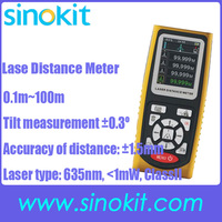 Ручной Лазерные дальномеры измерение измеритель расстояния дальномер ленты измерительный инструмент SK100D