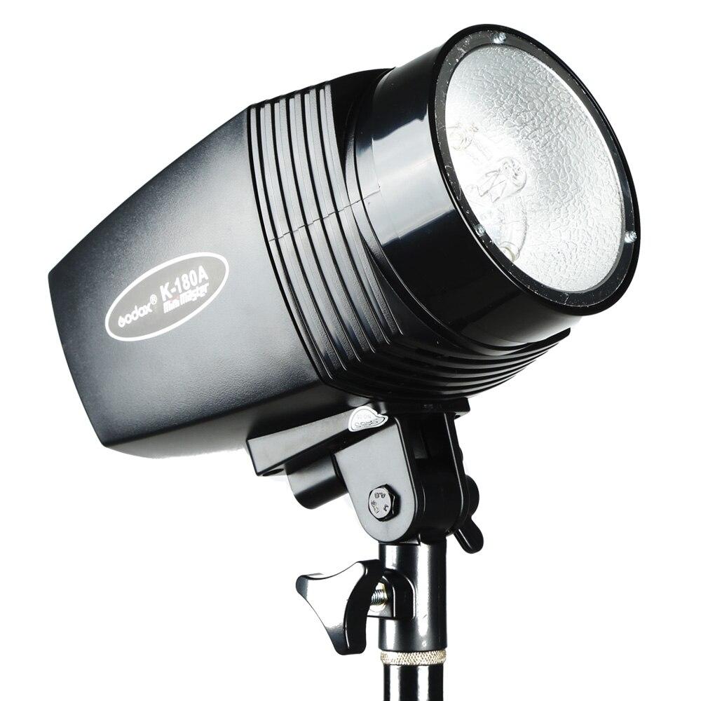 Image 4 - Godox K 180A 미니 마스터 180 w 스튜디오 스트로브 사진 소형 플래시 라이트 램프-에서플래시부터 가전제품 의