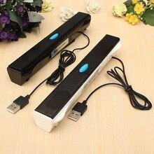 USB Mini Altavoz Amplificador Reproductor de Música de altavoces Estéreo Portátil Caja de Resonancia para PC de Escritorio del Ordenador Portátil Notebook
