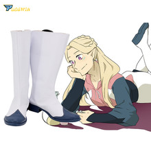 Voltron Defender of the Universe Romelle Cosplay Boots White Shoes Custom Made