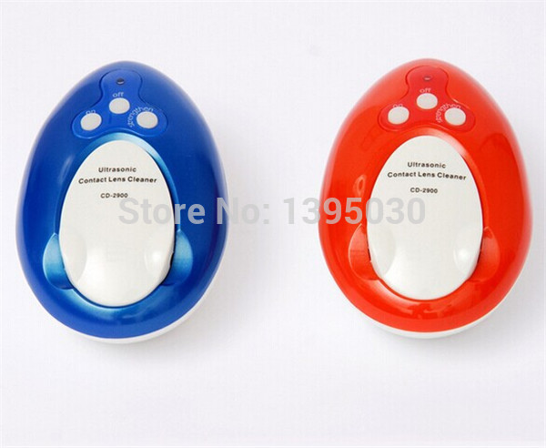 1PC CD-2900 Ultrasonic cleaner machine 4ML Ultrasonic Contact lens Cleaner 110/220V Mini Ultrasonic cleaner machine professional mini ultrasonic cleaner 220v