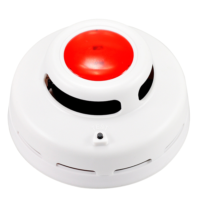 Cordless Stable Smoke Alarm High Sensitive Photoelectric Smoke Detector Fire Alarm Security System