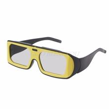 Peacefair Dual Color Frame Circular Polarized Passive 3D Stereo Glasses For Real D 3D TV Cinema
