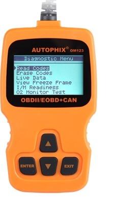 OBD2 Auto DTCs Error Fault Code Erase Reader Reset Scanner LCD Display Car Engine Diagnostic OBD