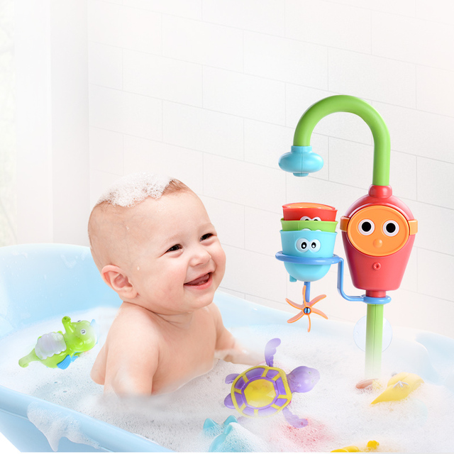 Bathing Spouts Clockwork Bathtub Bath Toys
