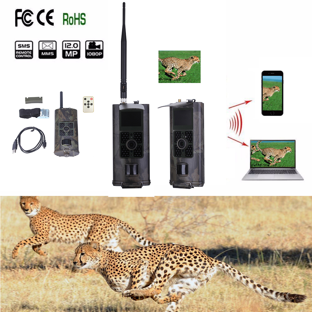 Camera Traps Wildlife Photo HC700M Infrared Motion Triggered 2G Trail Camera chasse 16MP GSM MMS GPRS Night Vision Game cameraCamera Traps Wildlife Photo HC700M Infrared Motion Triggered 2G Trail Camera chasse 16MP GSM MMS GPRS Night Vision Game camera