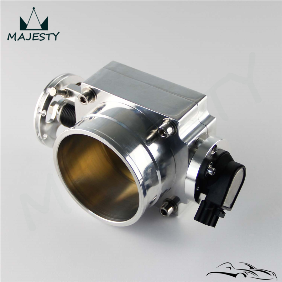 2JZ Black 90mm Reverse  Throttle Body With TPS Sensor For Toyota Supra 1JZ