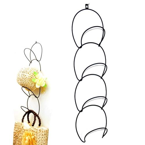 The clothes tree with a serial Hat pulled receive a hat rack mounts multi-function hook bags hanging rack