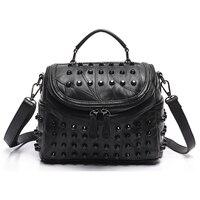 Luxury Women Genuine Leather Bag Sheepskin Messenger Bags Handbags Women Famous Brands Designer Female Handbag Shoulder