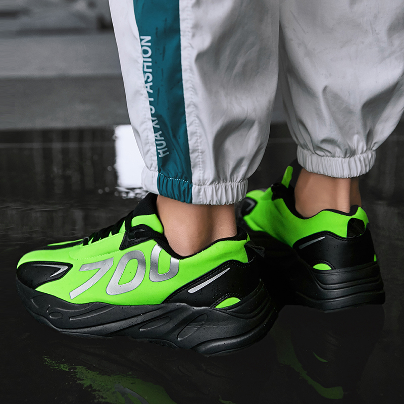 Official Original Authentic Men Height Increasing Running Outdoor Sport Lace 700 Platform 90 Shoes Deportiva 270 Max 44 Sneaker