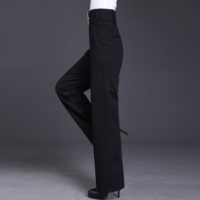 2018 new autumn and winter Fashion casual brand plus size loose straight wide leg female women girls pants trousers clothes