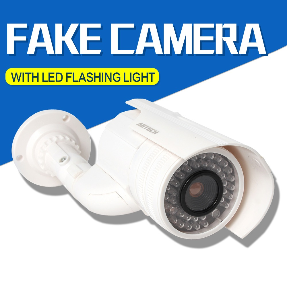 New Design Waterproof Fake Dummy CCTV Security Camera Flashing LED Indoor Outdoor Imitation Thief waterproof dummy cctv camera with flashing led for outdoor or indoor realistic looking fake camera for security