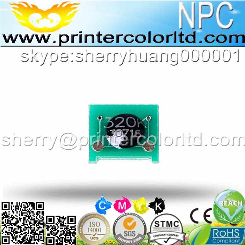 Toner chip para la impresora HP LaserJet 500 color MFP M575f/CP4025/4525dn/CP1215/CP1515/CP1518/ CM1300mfp/CM1312mfp/Canon-LBP5050/MF8050