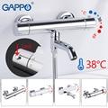 GAPPO Baignoire robinet thermostatique robinet salle de bain mitigeur bain robinets Cascade robinets de bain douche ensemble douche systèmes Y03