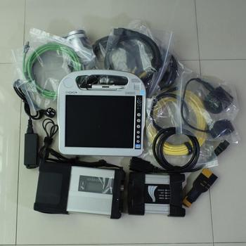star diagnost c5 mb sd for bmw icom next 2in1 with laptop touch screen i5 4g hdd 1tb software ready to use win7  best