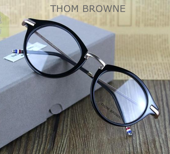 fdfcfab07cd9 THOM BROWNE TB 808 reading eyeglasses men and women top quality myopia eye  glasses frames TB808-in Eyewear Frames from Men s Clothing   Accessories on  ...