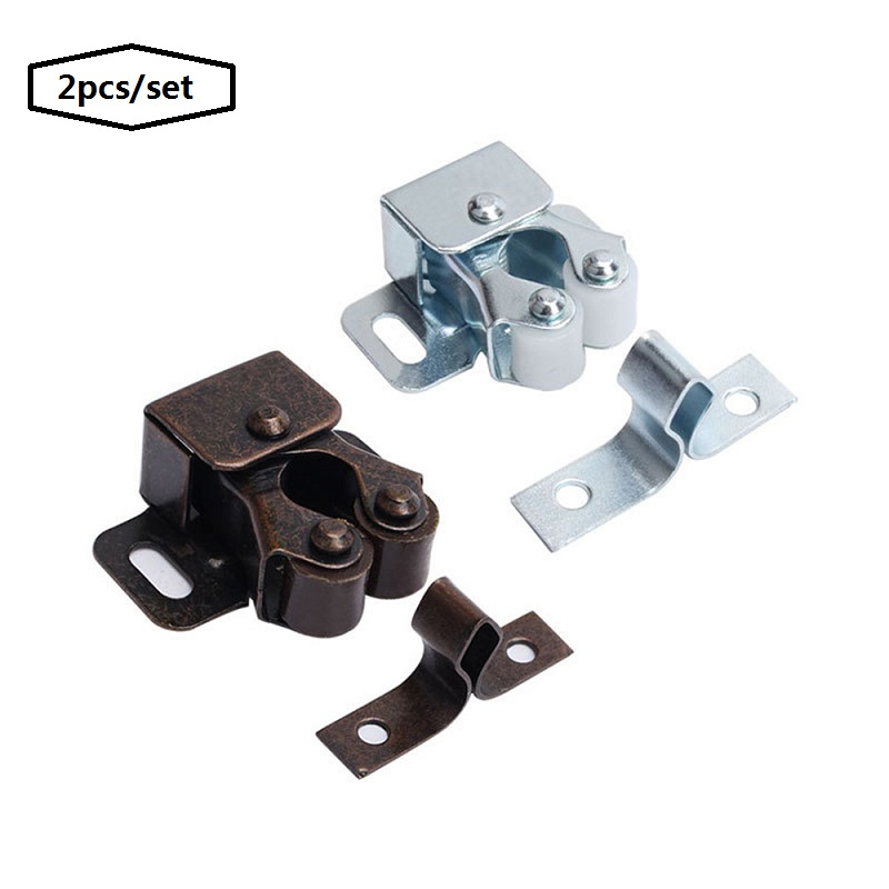 Cabinet Door Drawer Magnetic Catch Stopper with Screw Home Safely Gadget 2pcs//lot