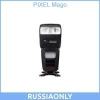 PIXEL Mago GN65 TTL Maestro de alta velocidad Sync 1/8000s Flash Speedlite para CANON