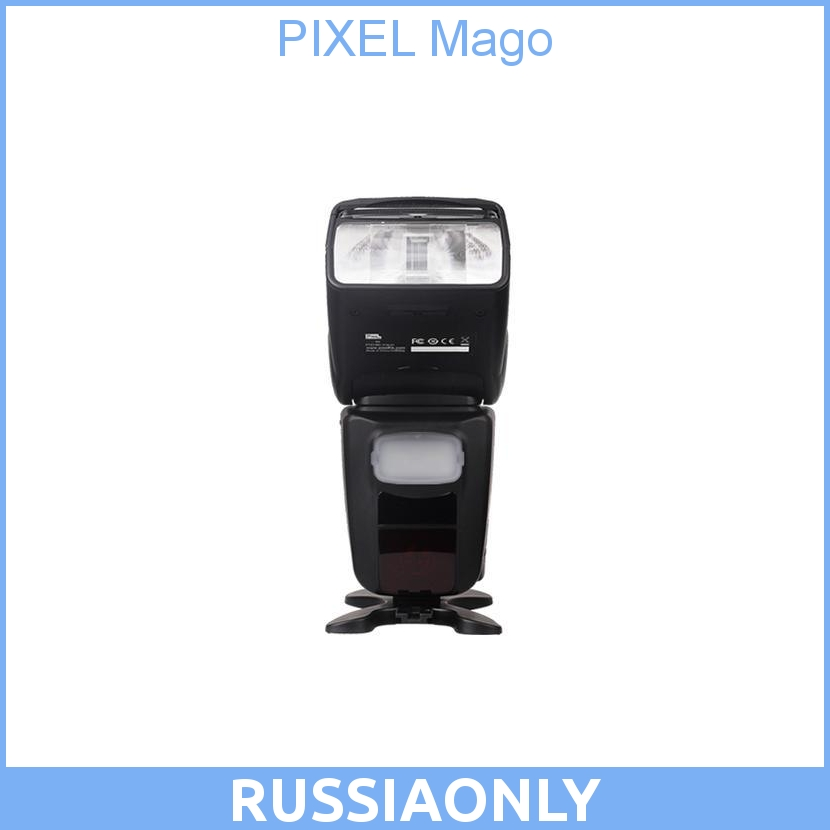 PIXEL Mago GN65 TTL Master High Speed Sync 1/8000s Flash Speedlite for CANON аксессуар pixel pf 801 4 0m combined type ttl cable for canon