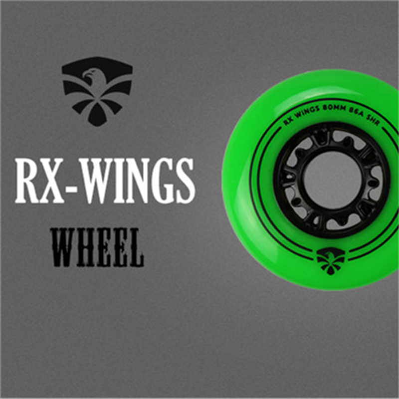 Flying Eagle 86A Green Red FSK Skating Wheel RX WINGS Slalom Gray 88A FE Inline Skates