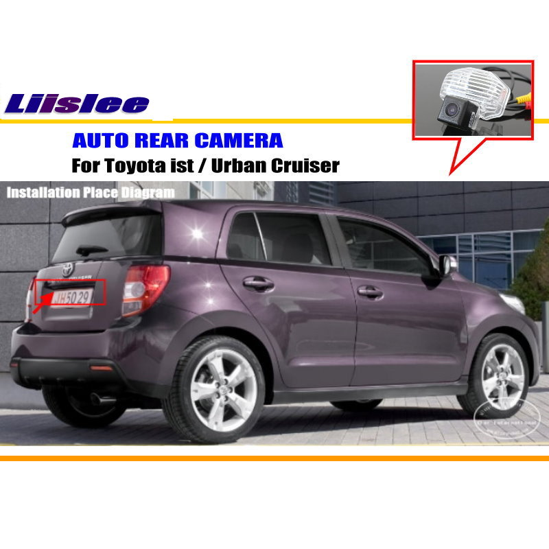Liislee car parking camera reverse camera for toyota ist urban liislee car parking camera reverse camera for toyota ist urban cruiser rear view camera license plate light oem in vehicle camera from automobiles sciox Gallery