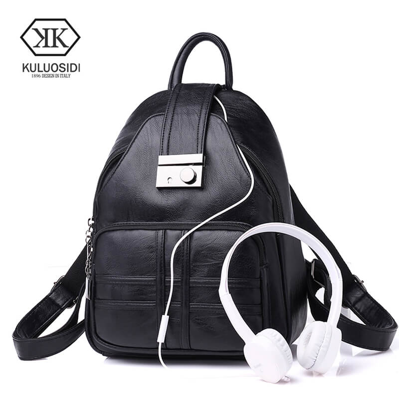KULUOSIDI, Large, Shoulder, School, Bag, Capacity