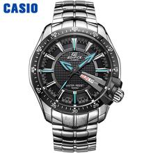 Casio reloj de Acero Correas de Reloj de Cuarzo de Los Hombres Los Hombres de moda Casual Relojes EF-130D-1A2 EF-130D-1A4 EF-130D-1A5 EF-131D-1A1