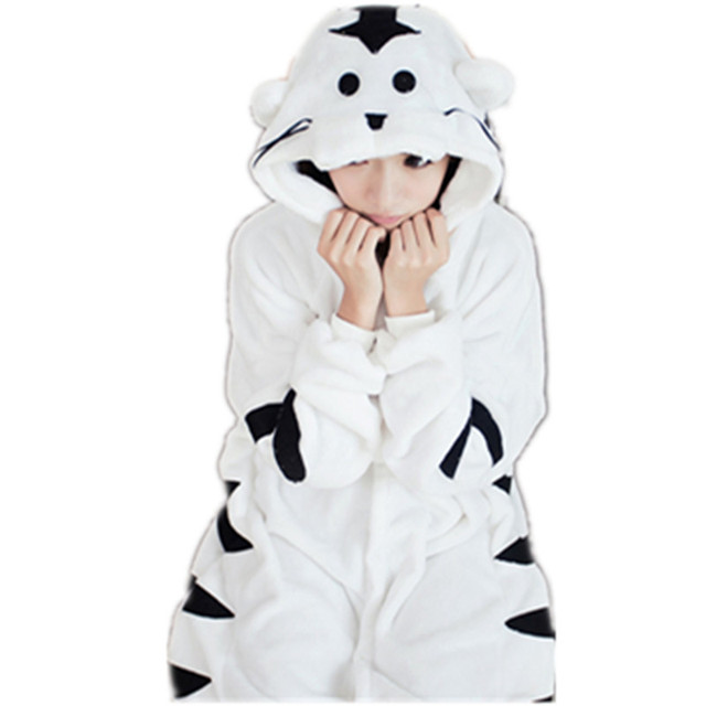 Think, that white tiger onesie