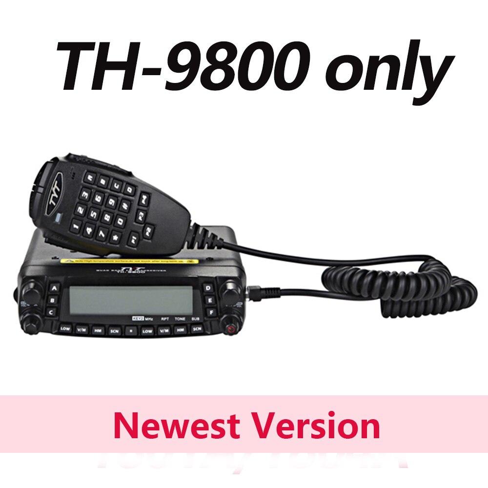 TYT TH-9800 Pro 50 W 809CH Quad Bande Double Affichage TH9800 Voiture Radio Répéteur Scrambler VHF UHF Émetteur-Récepteur De Voiture Camion jambon Radios