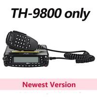 TYT TH 9800 Pro 50W 809CH Quad Band Dual Display TH9800 Car Radio Repeater Scrambler VHF UHF Transceiver Car Truck Ham Radios