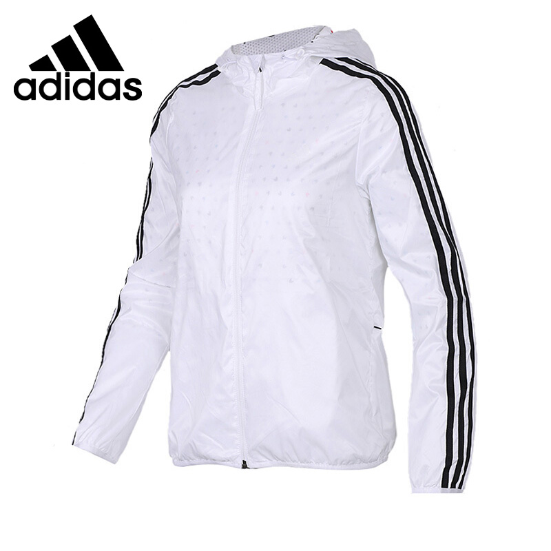 Original New Arrival 2018 Adidas Performance WB AOP 3S Women's jacket Hooded Sportswear original new arrival official adidas originals trf series aop men s jacket hooded sportswear