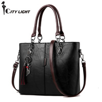New Women Handbag Women Messenger Bag Female PU Leather Shoulder Bag Women S Embroidery Cat Pendant
