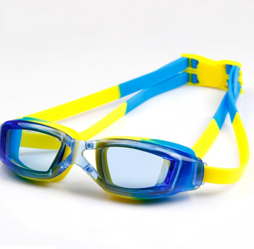 Kids Swimming Anti-Fog UV Protection Prescription Goggles Waterproof Glasses Goggle 10