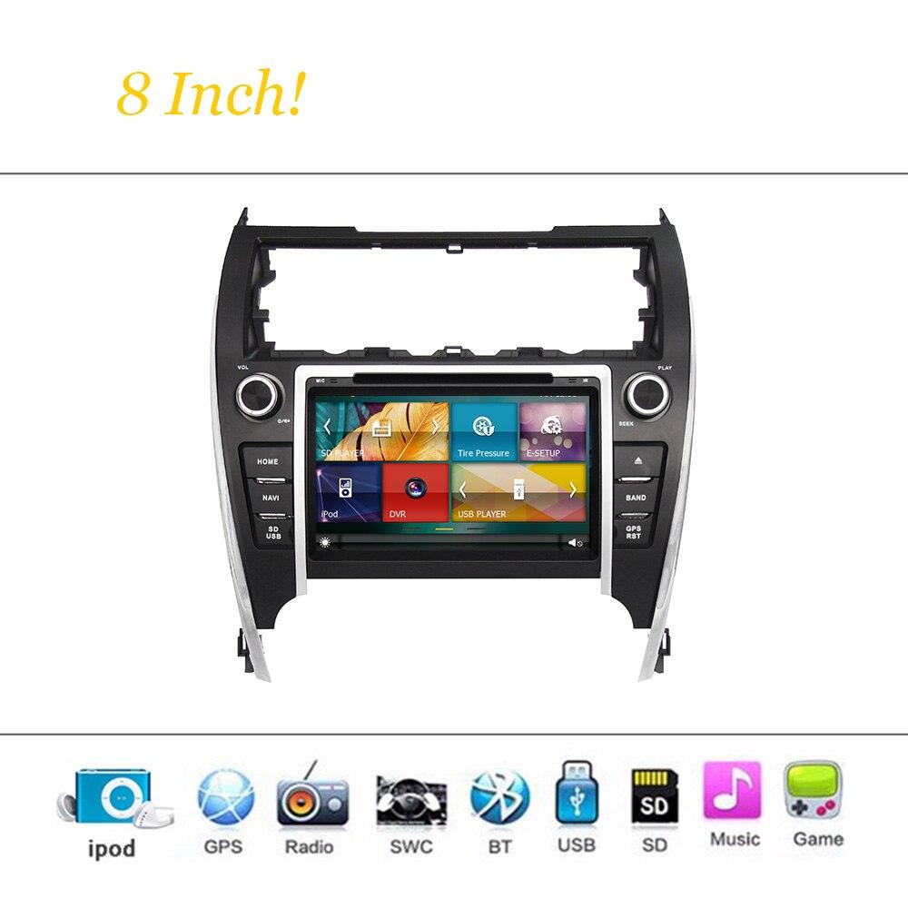 Sistema Reproductor de DVD del coche Para Toyota Camry 2012 2013 2014 EE.UU. VER