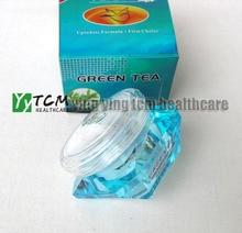 6 pcs/lot Green Tea whitening cream skin care anti freckle face