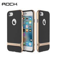 For iPhone 7 / 7 Plus Case Rock Royce Series Luxury Ultra Slim TPU+PC Grid Texture Case For Apple iPhone 7 Plus Phone Back Cover все цены