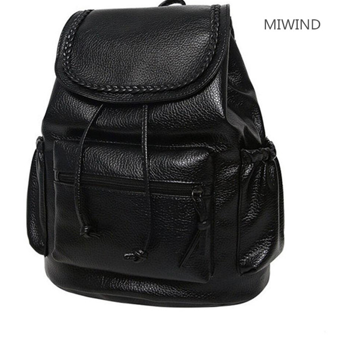14 colours 70usd  version of the fashion bag washing braided double back college students backpack PU new backpack 0301 2015 wholesale back to heaven demon college dxd leah redrawing wire pole dancing editions of hand box
