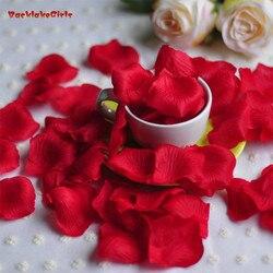 Acessórios Do Casamento de rosa Pétalas 1000 peças muito Barato Petalas Artificiais Pétalas de Rosa Flores Do Casamento Decoração Bonita