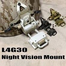 L4G30 Airsoft тактический шлем ОНВ Гора алюминиевый охота пейнтбол аксессуары ночного видения шлем ОНВ Гора