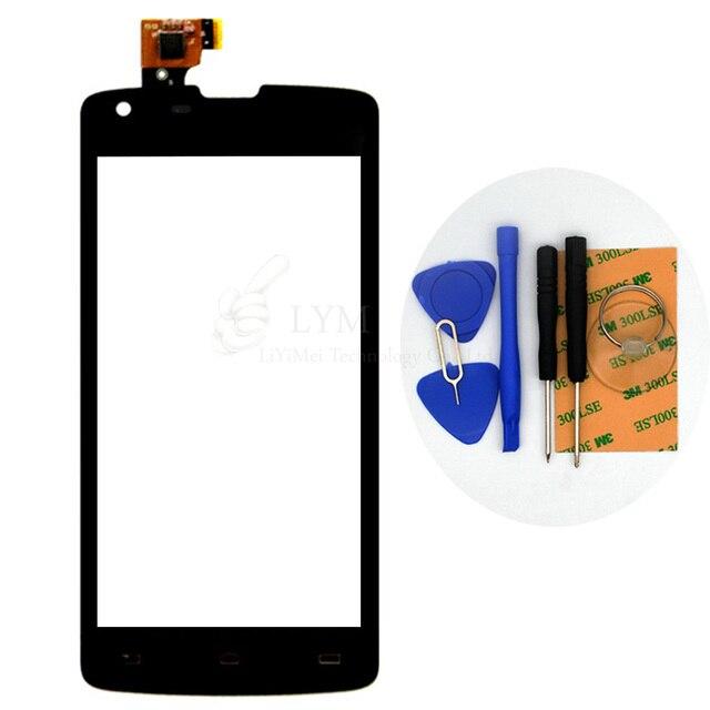 """Черный TP для Philips Xenium W8510 4.7 """"Сенсорным Экраном Дигитайзер Стекла Замена Панели Части Нет ЖК-Дисплей Бесплатная Доставка + инструменты"""