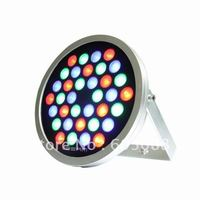 DC24v 36w rgb led wall washer IP67 waterproof round led flooding light working compatible with normal rgb&dmx controller CE&ROHS