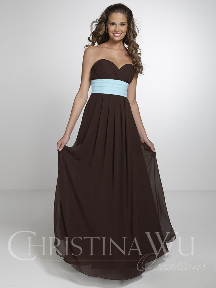 Chocolate Brown Bridesmaid Dresses With Sleeves - Wedding Dress Ideas