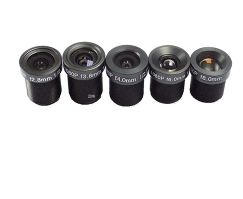 3.6/4/6/8mm 1080P 2 Million CCTV Security Camera Lens Through Light 2.7 Point цены