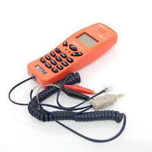 Телефонный провод проверка портативный тестовый телефон проверка провода Фидер со специальным мультимедиа телекоммуникационной инженерии