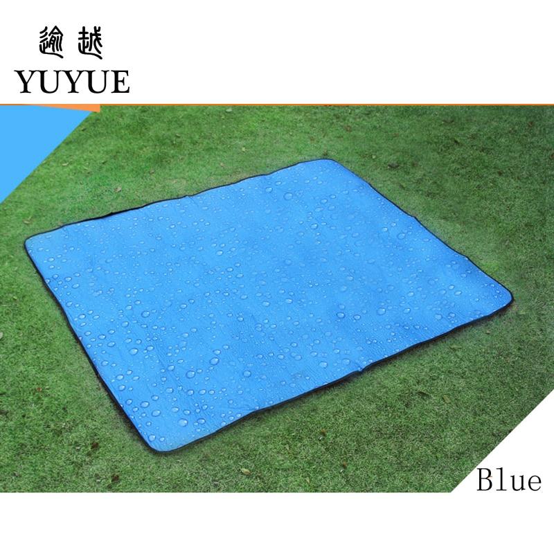150*180cm beach mats for outdoor camping tent fishing picnic camping mattress beach blanket for outdoor tent send free mat 1