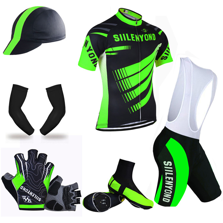 ФОТО Siilenyond Brand Pro Cycling Package ! Bicycle Clothing Cycling Jersey set Cycling set Ropa Ciclismo Bike Wear Cycling Clothing