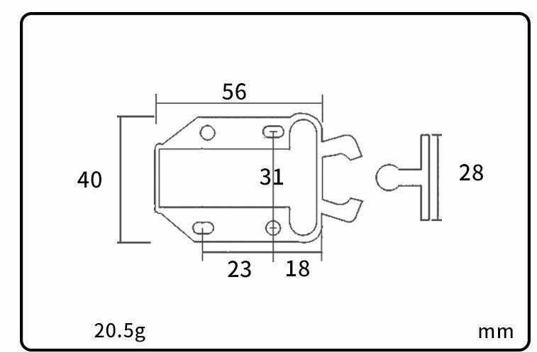 SSU #3 шкаф невидимая дверь ABS Beetle отскок самоблокирующееся устройство ПРЕСС ВЕСНА Rebounder шкаф замок мебель аксессуары