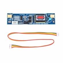 """Buyincoins חדש האוניברסלי CCFL מהפך LCD למחשב נייד צג 2 מנורת 10 28V תאורה אחורית מעשי עבור 10 26 """"מסך"""