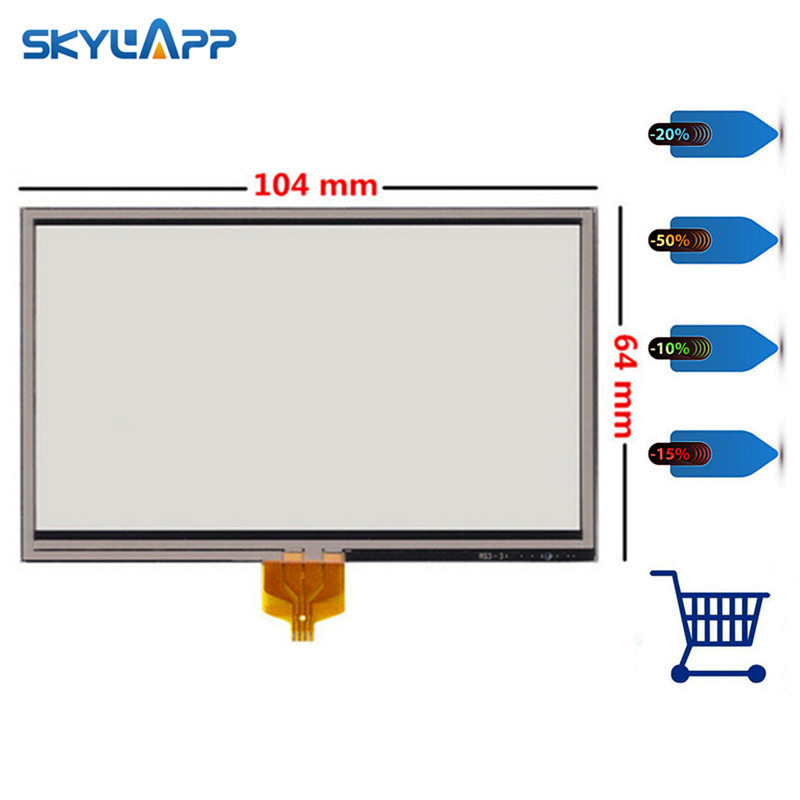 Skylarpu 4.3 inch Touch screen for TOMTOM GO 630 730 920 XL N14644 Touch panel Sensor LCD Display Digitizer Glass Replacement new tom tom gps touchscreen tomtom one xl 340 350 touch screen panel digitizer page 7